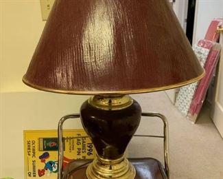 Dark Red Lamp