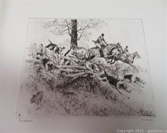 Fine Etchings by Four Great Artists