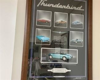 Ford Thunderbird Signed Numbered Print
