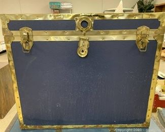 Gold and Blue Trunk