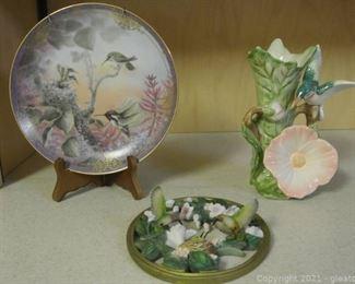 Hummingbird Decorative Pieces