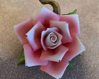 Lefton Large Rose