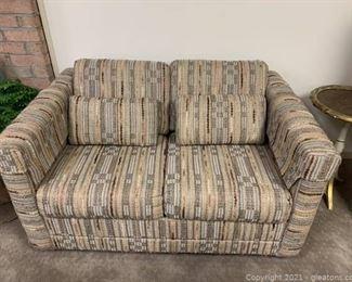 Multi Colored Vintage Love Seat