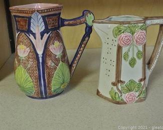 Seymour Mann Hand Painted Majolica Pottery