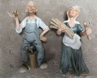 Starset Old Man Cobbler and Old Woman Gathering Firewood