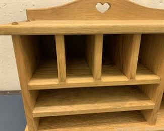 Small Wooden Shelving Unit