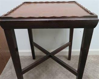 Sturdy Walnut End Table