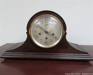 Valuable Antique Ansonia Humpback Chiming Mantle Clock