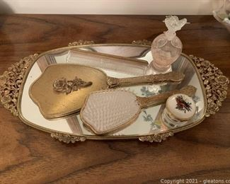 Vintage Dressing Tray