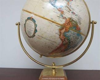 Vintage Replogle World Classic 12in World Globe