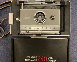 Vintage Polaroid 240 Land Camera