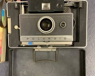 Vintage Polaroid 100 Land Camera