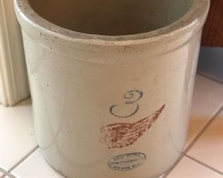Red Wing Crock, #3
