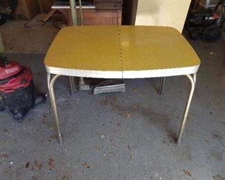 Mid-century formica table