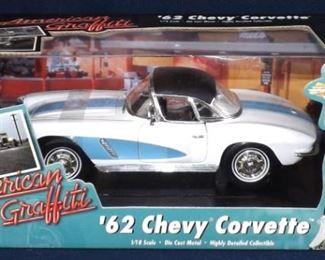 62 Corvette Diecast