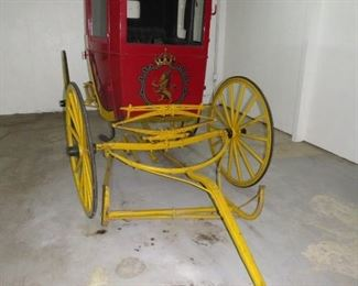$1800.00,  Strohs Beer Horse Carriage two seater VG condition, inside needs detailing