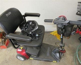 $500.00, Pride mobile handicap cart VG condition