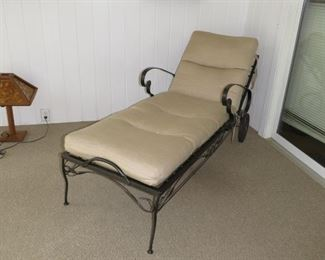 $125.00, Woodard Chaise VG condition