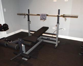 Bench Press Setup