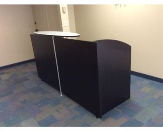 CCM008 Large Reception Desk With Two File Cabinets