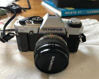 Olympus OM-G 35mm Film Camera And 50mm f/1.8 Lens $120 (Photo 1/3)