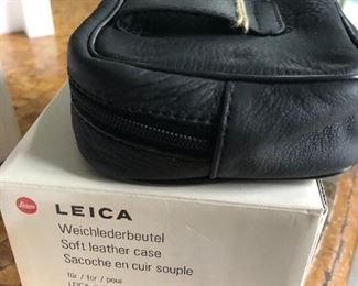 Leica leather camera pouch 18600 for Digilux camera $35 (Photo 1/3)