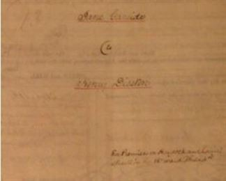 Deed for Henry Disston