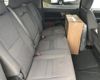 Dodge Back Seat