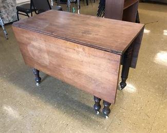 Antique Double Drop Leaf Table