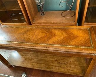 Vintage Sofa Table (1 of 3 pieces)