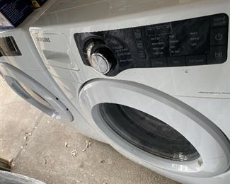 """Samsung 27"""" electric washer/dryer (dryer needs heating element and dryer needs new bearing) price is reflected....cosmetically good $300"""
