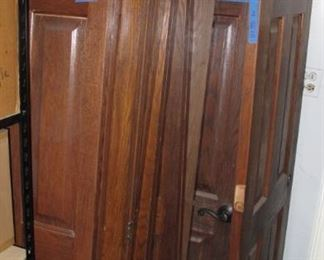 Solid wood indoor & closet doors