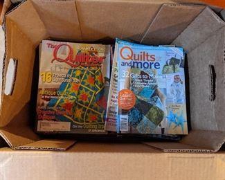 MANY quilt magazines