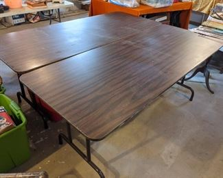2 Large STRONG banquet tables