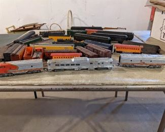 Train set many years old