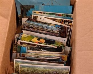 HUGE post card collection