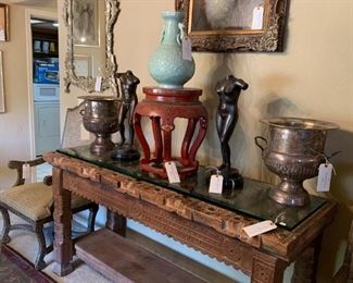 CUSTOM MEXICAN CONSOLE TABLE