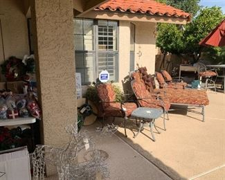 LOTS OF PATIO FURNITURE