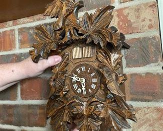Authenic German Cuckoo Clock $250 OBO