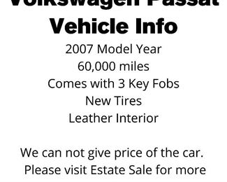 Volkswagen Passat Vehicle Info