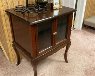 Small end table/cabinet
