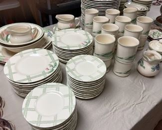 Pflatzgraff dinnerware.....112 pieces, settings for 20