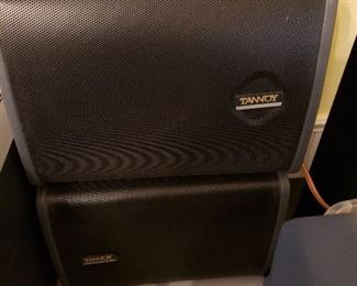 Tannoy wall mount speakers--we have 4