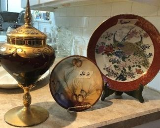 satsuma plate -  and more in collectibles  -