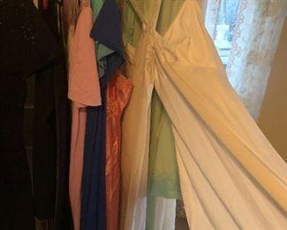 long silk lingerie