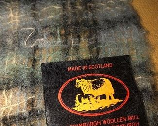 wool scarf from scotland -