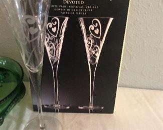 set of 2 lenox glasses