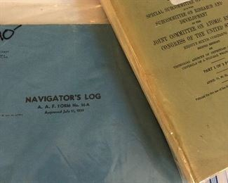 few military things like this navigator's log -