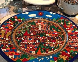 huge art plate !!