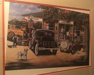 rare coca cola -limited print-signed and numbered i believe - only made 1500 of this one by this artist